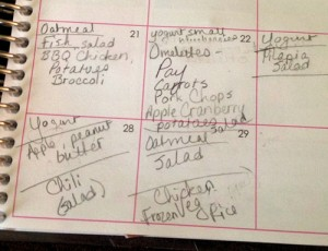 meal planning Erin Condren Life Planner  http://www.catheswanson.com