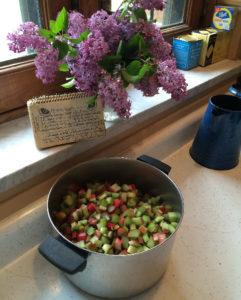 Rhubarb Crisp Recipe - Cathe Swanson