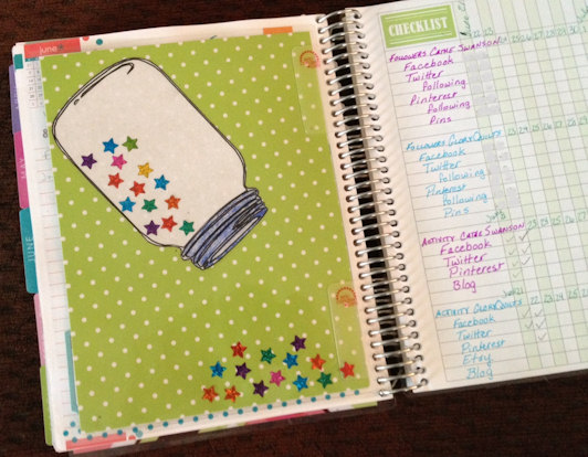 mason jar weight loss tracker Erin Condren Life Planner  https://www.catheswanson.com