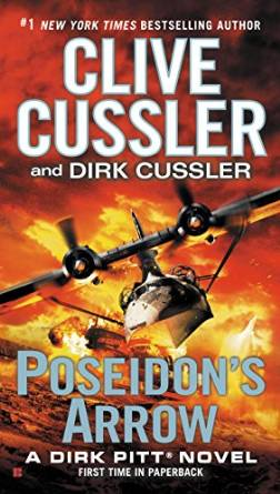Poseidon's Arrow by Clive and Dirk Cussler - audiobook reviews by Cathe Swanson