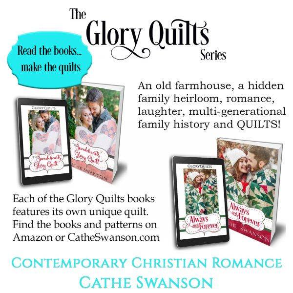 Cathe Swanson books and GloryQuilts Quilt patterns
