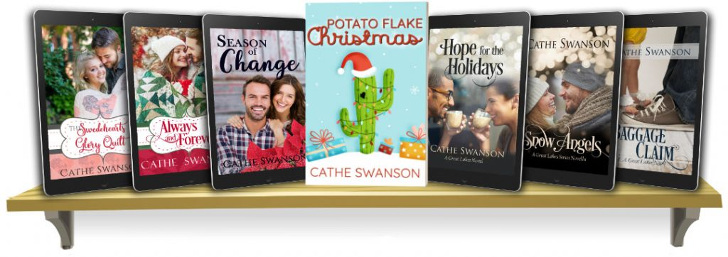 Cathe Swanson books - Contemporary Christian Fiction - Christmas books