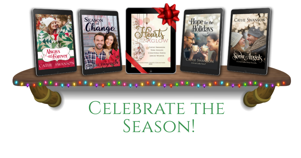Christmas books by Cathe Swanson
