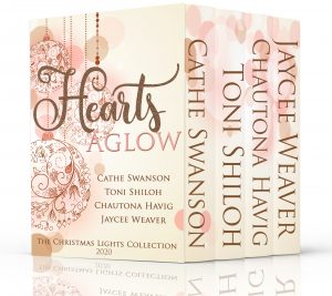 Hearts Aglow ~ The 2020 Christmas Lights Collection, with books by Chautona Havig, Cathe Swanson, Toni Shiloh and Jaycee Weaver ACFW Christian Fiction