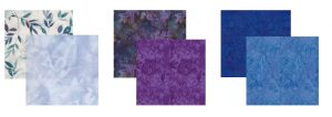 GloryQuilts Block of the Month Discovery Quilt fabric choices