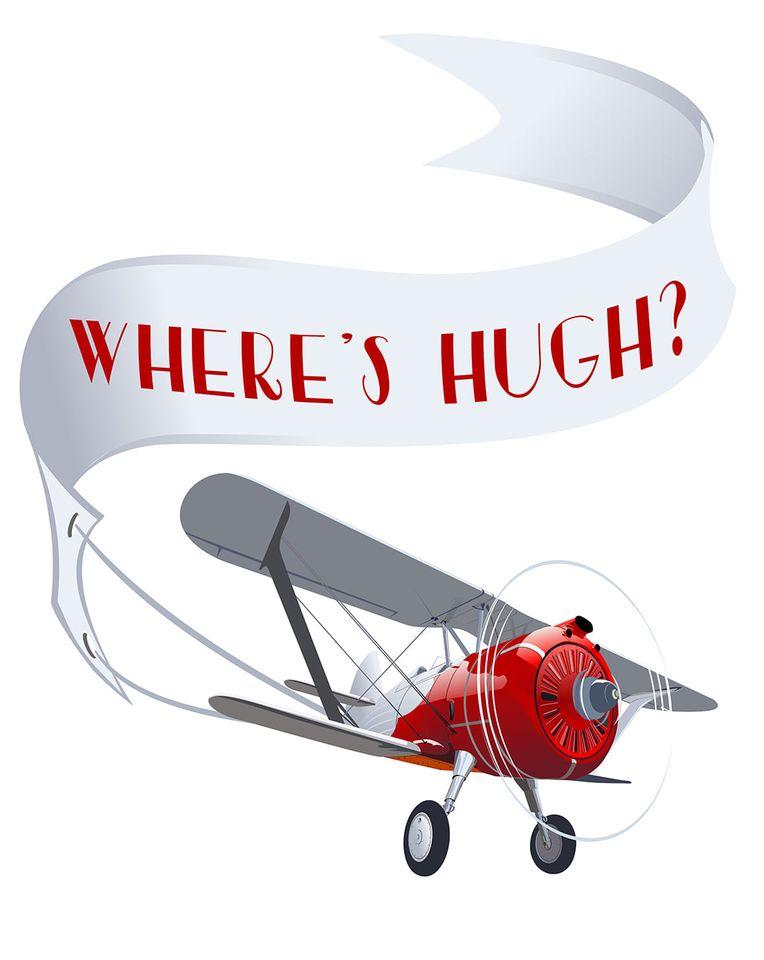 Where's Hugh? April Hayman's missing hero ~ When the Pilot Falls